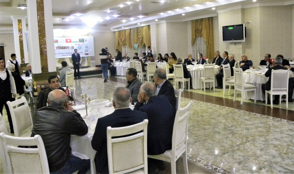 Borçalı Cəmiyyəti TÜRKSOY təşkilatının 25 illiyini qeyd etdi